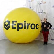 Большой рекламный шар