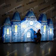 Надувная сценическая декорация Дворец