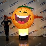 Надувная фигура с подсветкой Апельсин