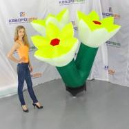 оформление для праздника надувной букет цветов