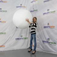 надувной шар-мяч для игры