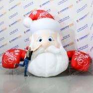 Надувное оформление Дед Мороз