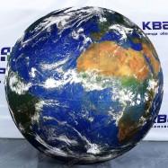 Декоративный шар Земля