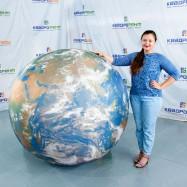 Мяч Глобус для декораций