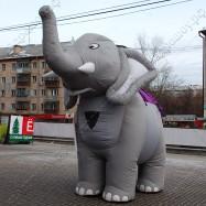 Ходячая надувная фигура Слон