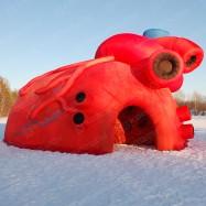 Надувная конструкция сердце