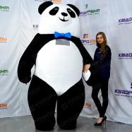Ходячая надувная фигура Панда