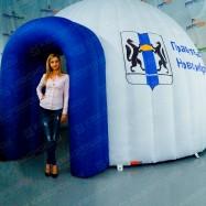 Надувной круглый шатер для рекламы