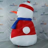 Снеговик для новогоднего оформления территории