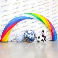 Надувные декорации Арка с Мячами