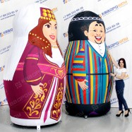 надувные декорации национальные матрешки