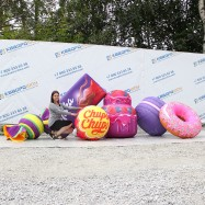 Надувные декорации сладости большого размера