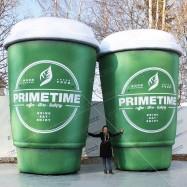 надувные фигуры огромные чашки кофе для рекламы