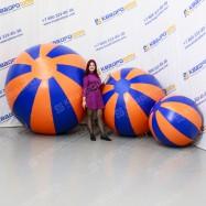 Большие надувные мячи Долька ПВХ
