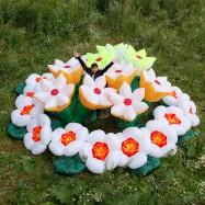 Надувные декорации цветы