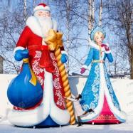 Надувной новогодний декор