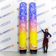 Надувная колонна для оформления праздничного пространства