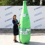 Надувная рекламная фигура бутылка Тархуна