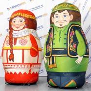огромные надувные матрешки чувашка и татарин