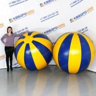 огромные разноцветные мега мячи пвх для игр