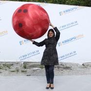 огромный шар для боулинга надувной диаметра 1 метр