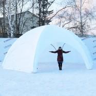 белый шатер 4 метра