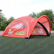 Палатка для рекламы пиццерии