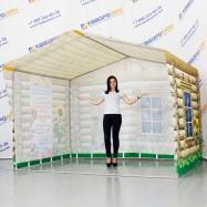 палатка торговая домик