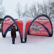 Палатка для промоутера