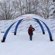 палатка белая без козырька 5*5 метров