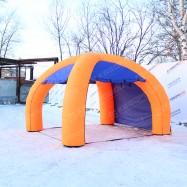 надувной навес-палатка