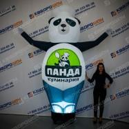 Панда повар  надувная с подсветкой