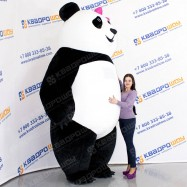 панда надувной ростовой костюм для взрослого