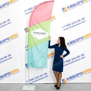 Флаг для рекламы виндер