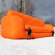 Пневмофигура надувной диван для мебельного магазина