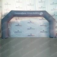 Рекламная декорация арка