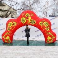 Декорация в русском стиле оформить