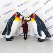 надувные куклы пингвины