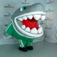 Надувной костюм Акула
