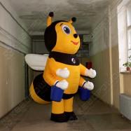 Надувная ходячая фигура Пчела