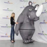 Пневмокостюм носорога