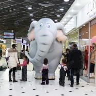 Костюм из воздуха Слон