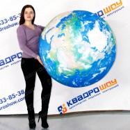 подвесной воздушный шар глобус для выставки
