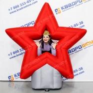 праздничная декорация звезда ко дню победы