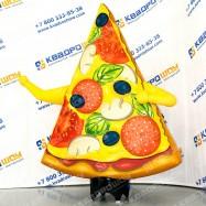 рекламная фигура пицца с руками гастрит