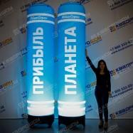 Надувные колонны для рекламы
