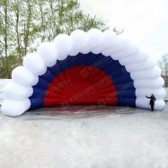 Надувная сцена веер триколор
