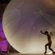 Большой декоративный шар