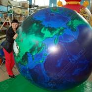 Большой надувной глобус