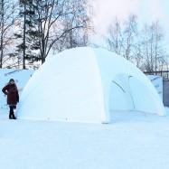 белая палатка